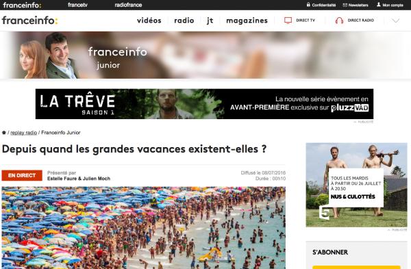 France Info Junior - La radio pour les enfants