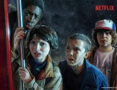Stranger Things Les enfants vus par l'illustrateur Kyle Lambert