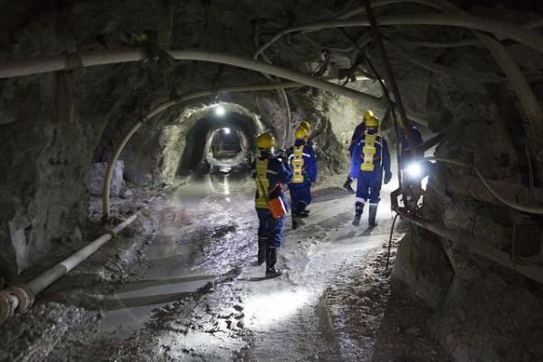 Une mine en Chine