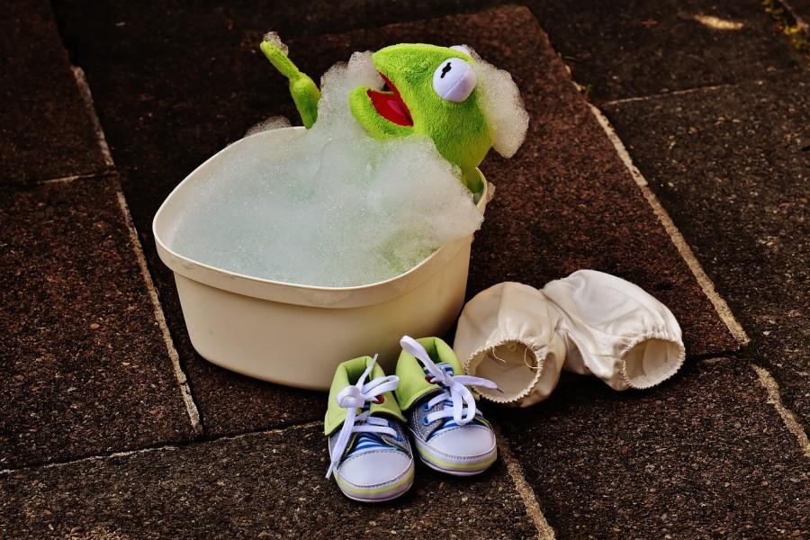 Kermit se lave au savon de Marseille