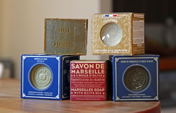 Savon de Marseille - Alepia, Marius Fabre, Briochin