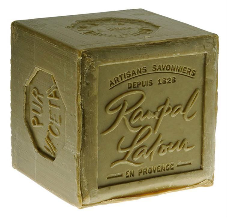 savon de marseille jaune ou vert