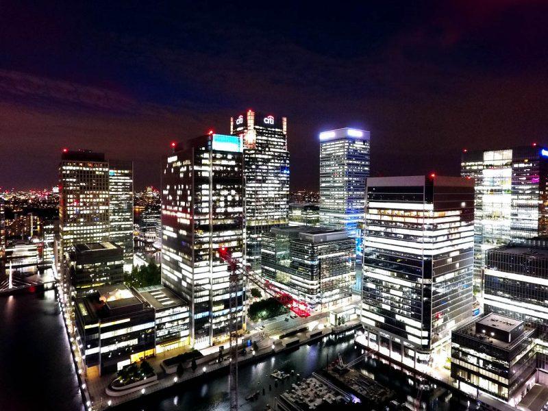 Eclairage - La ville éclairée au coeur de la nuit