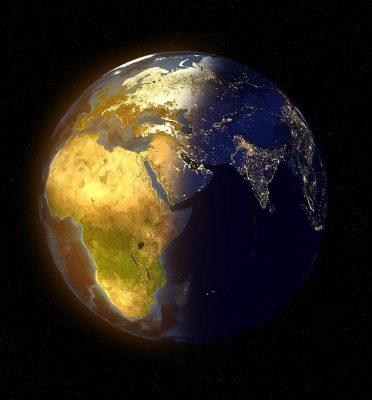 Eclairage - La planète entre jour et nuit