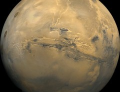La planète Mars photographiée depuis la sonde Viking
