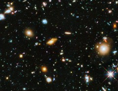 "Une portion du ""Hubble ultra deep field """