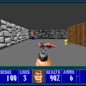 Wolfenstein 3D - Meurt, pourriture nazie !
