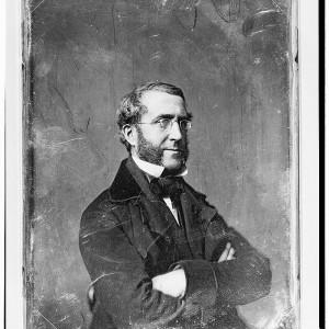 Un daguerréotype de la bibliothèque du Congrès