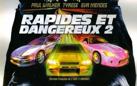L'affiche du film 2 Fast 2 Furious - Rapides et dangereux 2