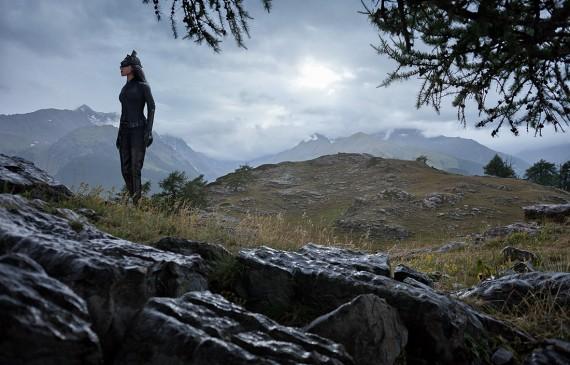 Catwoman en randonnée