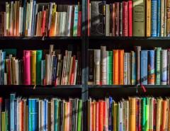 Des livres sur des étagères